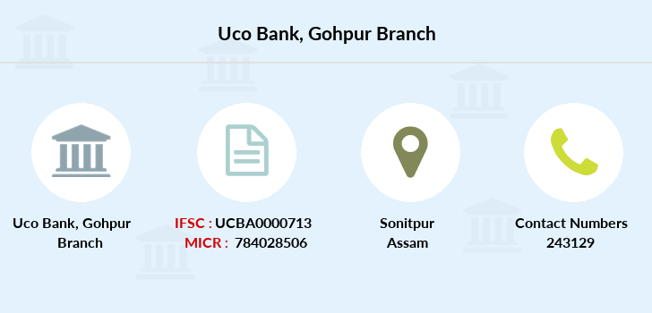 Uco-bank Gohpur branch