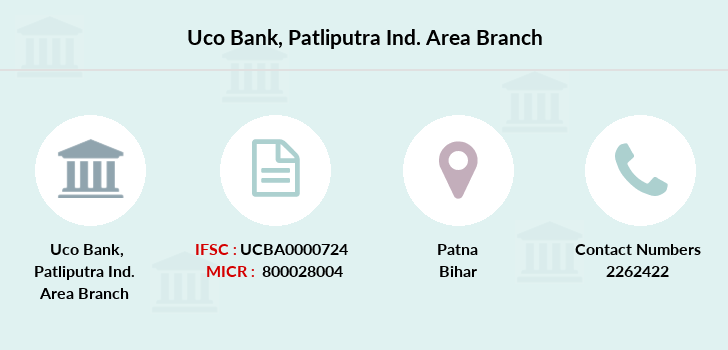 Uco-bank Patliputra-ind-area branch