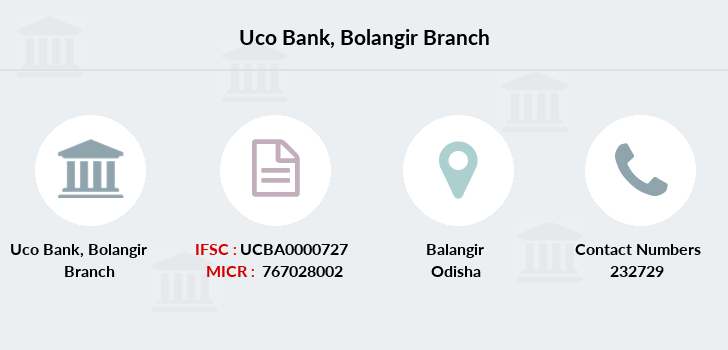 Uco-bank Bolangir branch