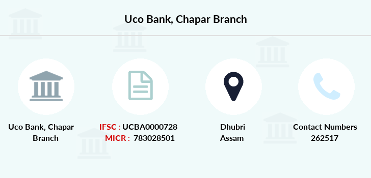 Uco-bank Chapar branch
