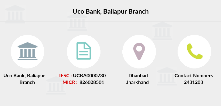 Uco-bank Baliapur branch