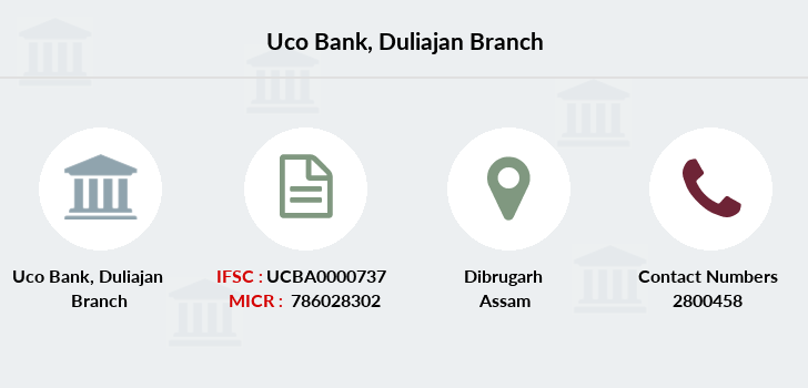 Uco-bank Duliajan branch
