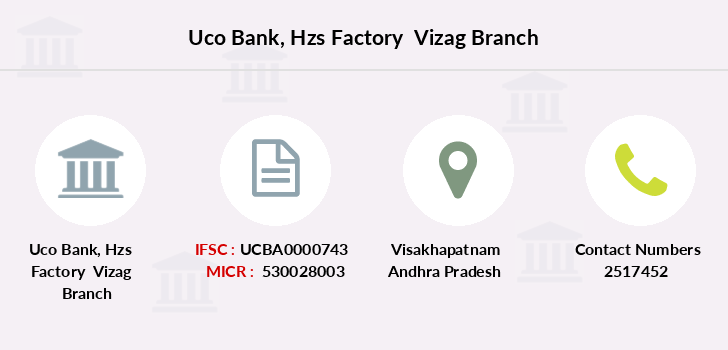 Uco-bank Hzs-factory-vizag branch