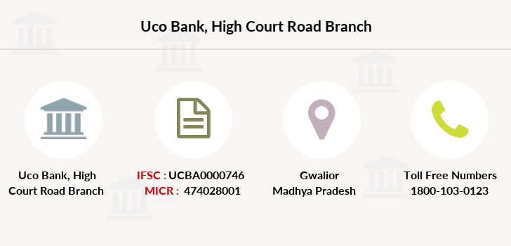 Uco-bank High-court-road branch