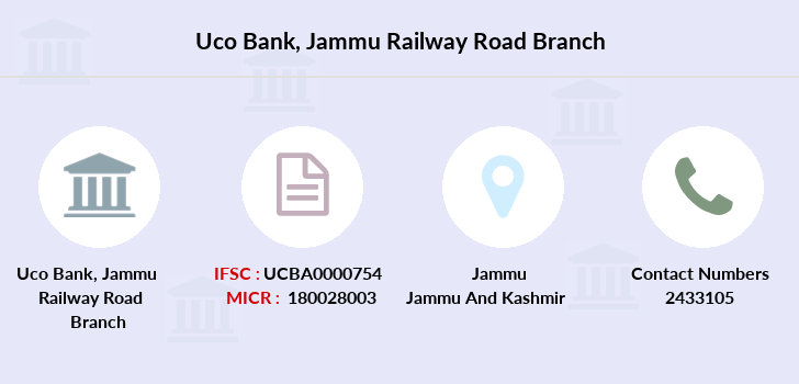 Uco-bank Jammu-railway-road branch
