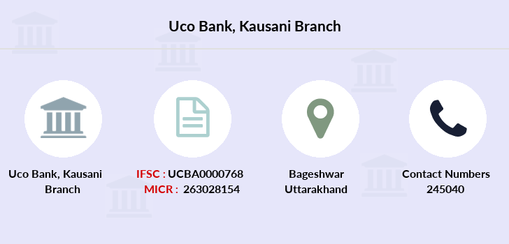 Uco-bank Kausani branch