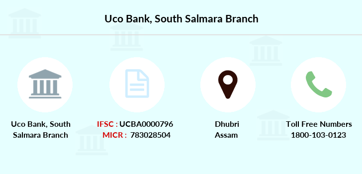 Uco-bank South-salmara branch
