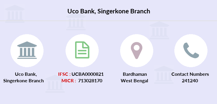 Uco-bank Singerkone branch