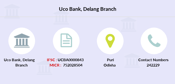Uco-bank Delang branch