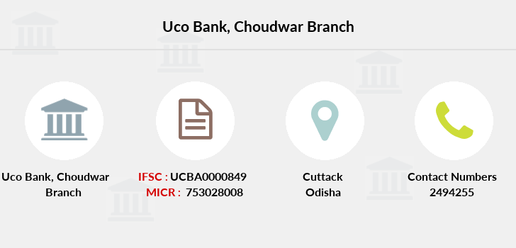 Uco-bank Choudwar branch