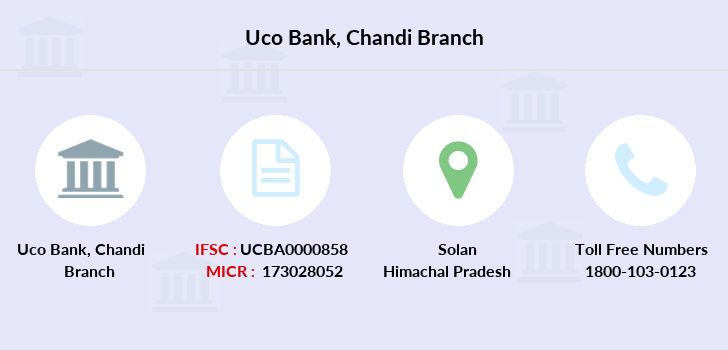 Uco-bank Chandi branch