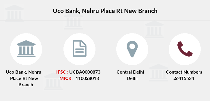 Uco-bank Nehru-place-rt-new branch