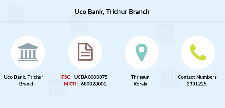 Uco-bank Trichur branch