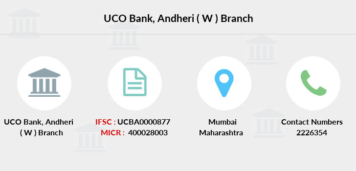 Uco-bank Andheri-w branch