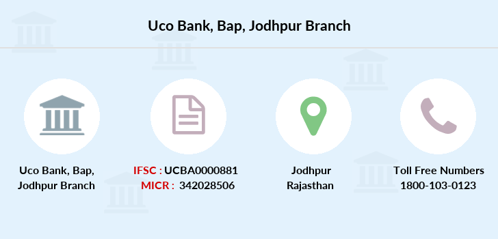 Uco-bank Bap-jodhpur branch