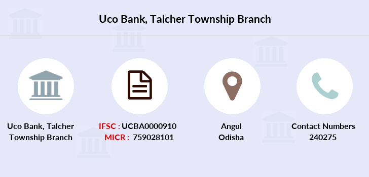 Uco-bank Talcher-township branch