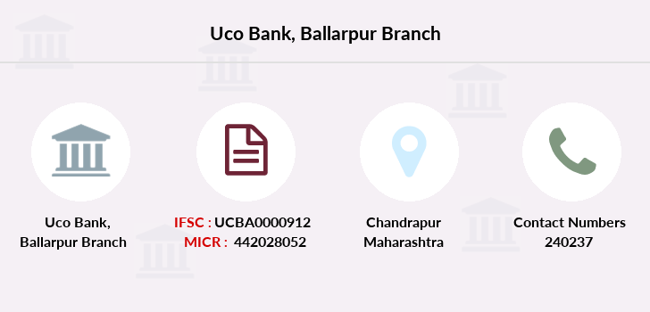 Uco-bank Ballarpur branch