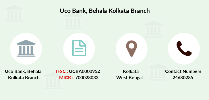 Uco-bank Behala-kolkata branch