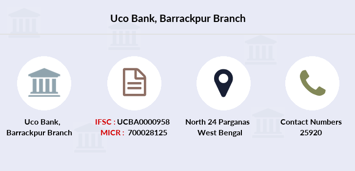 Uco-bank Barrackpur branch