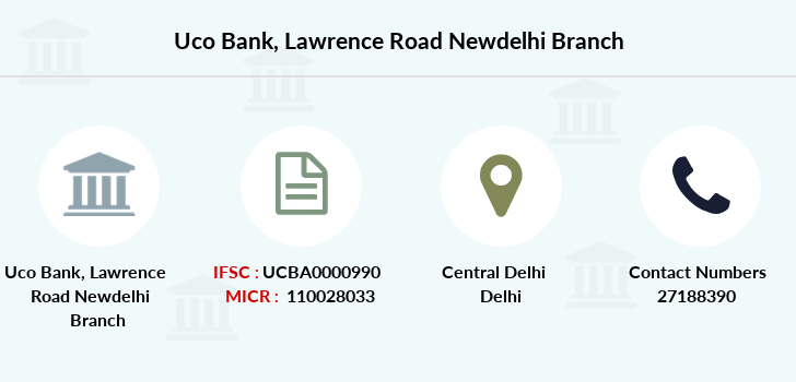 Uco-bank Lawrence-road-newdelhi branch