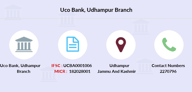 Uco-bank Udhampur branch