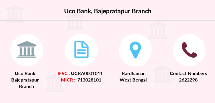 Uco-bank Bajepratapur branch