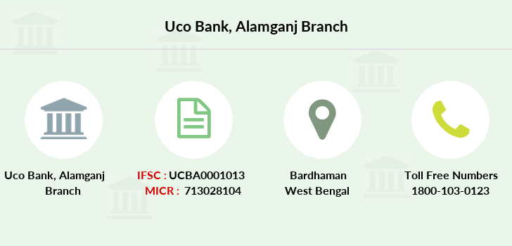 Uco-bank Alamganj branch