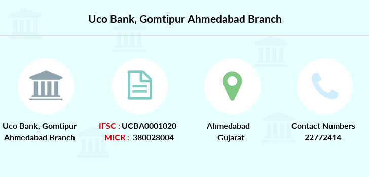 Uco-bank Gomtipur-ahmedabad branch