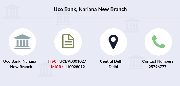 Uco-bank Nariana-new branch