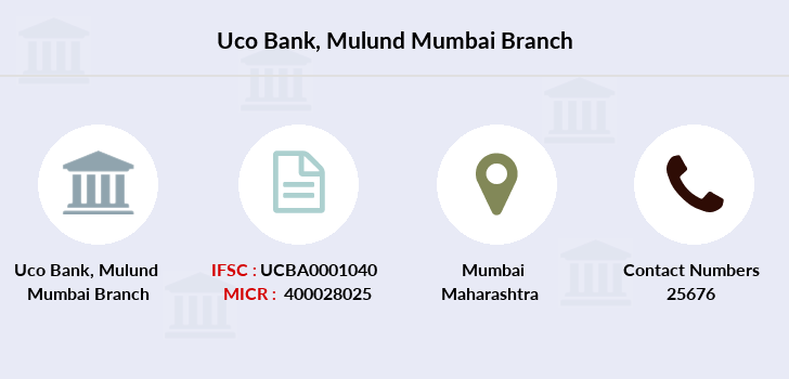 Uco-bank Mulund-mumbai branch