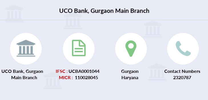 Uco-bank Gurgaon-main branch