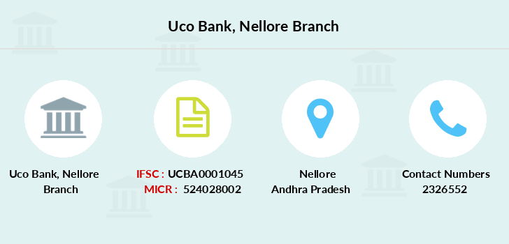 Uco-bank Nellore branch