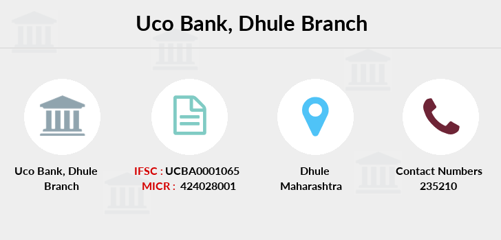 Uco-bank Dhule branch