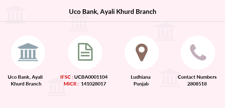 Uco-bank Ayali-khurd branch
