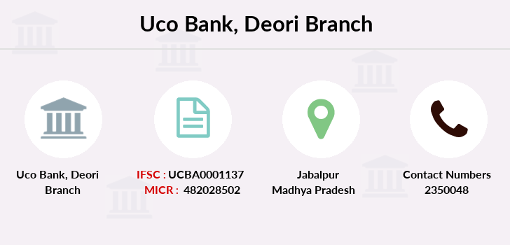 Uco-bank Deori branch