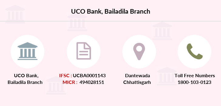 Uco-bank Bailadila branch