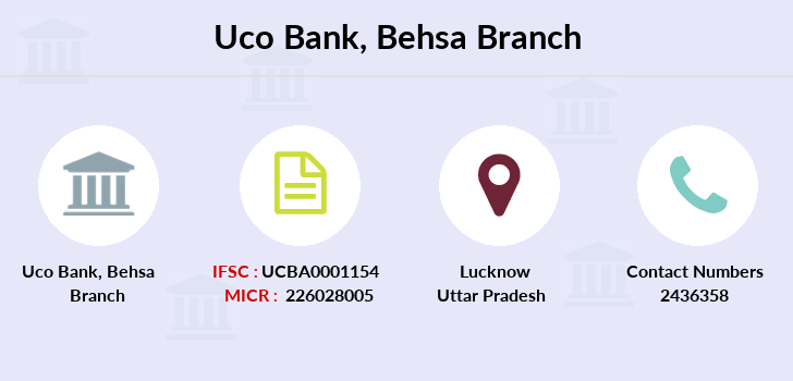 Uco-bank Behsa branch