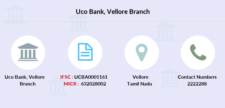 Uco-bank Vellore branch
