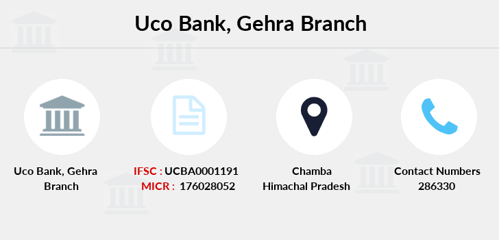Uco-bank Gehra branch