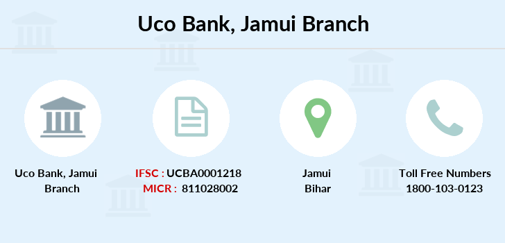 Uco-bank Jamui branch