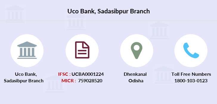 Uco-bank Sadasibpur branch