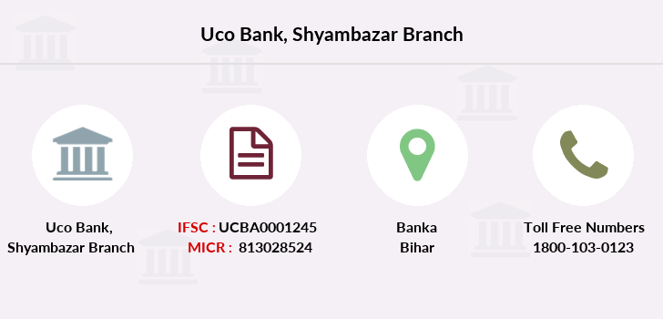 Uco-bank Shyambazar branch