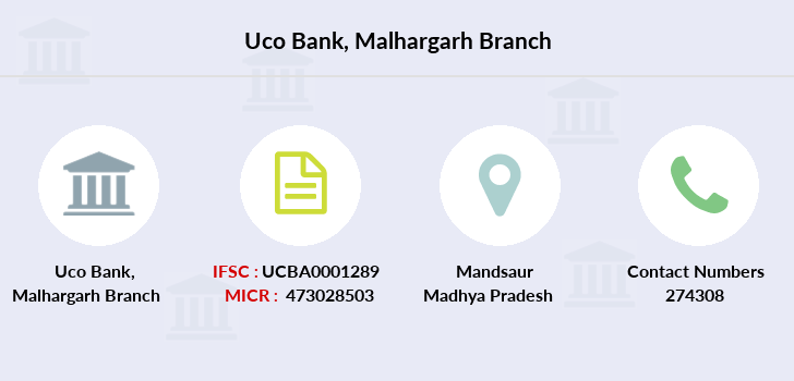 Uco-bank Malhargarh branch