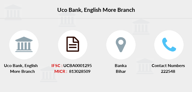 Uco-bank English-more branch
