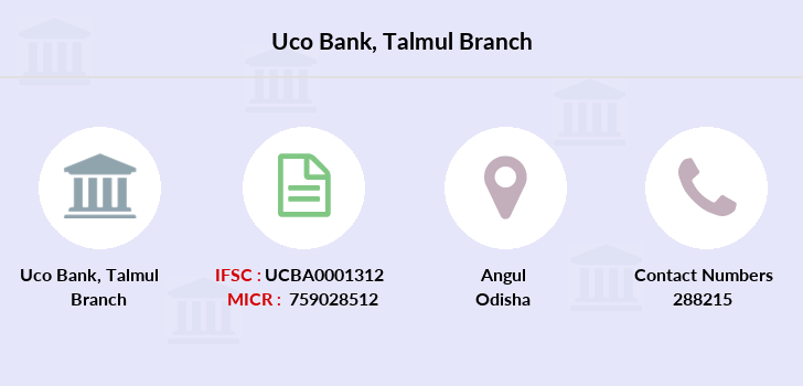 Uco-bank Talmul branch
