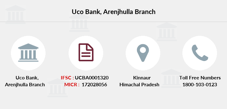 Uco-bank Arenjhulla branch