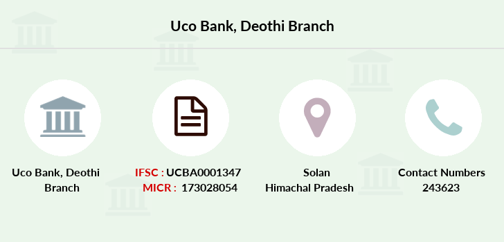 Uco-bank Deothi branch