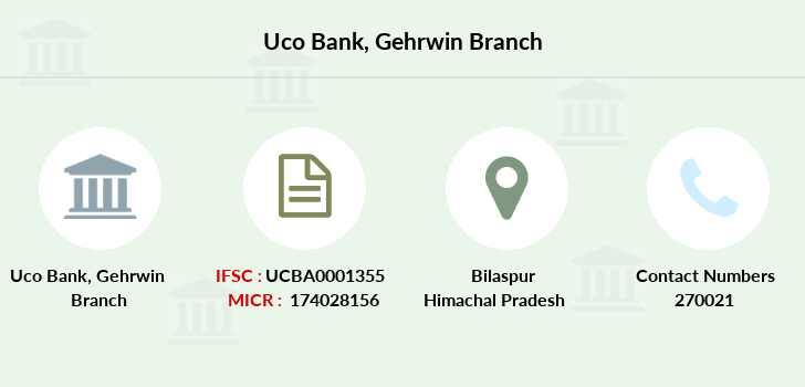 Uco-bank Gehrwin branch