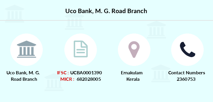 Uco-bank M-g-road branch