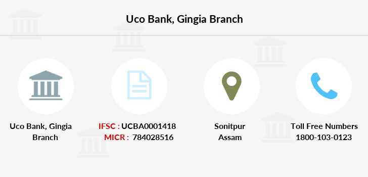 Uco-bank Gingia branch